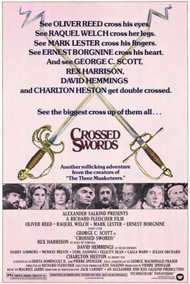 Crossed Swords - 11 x 17 Movie Poster - Style A