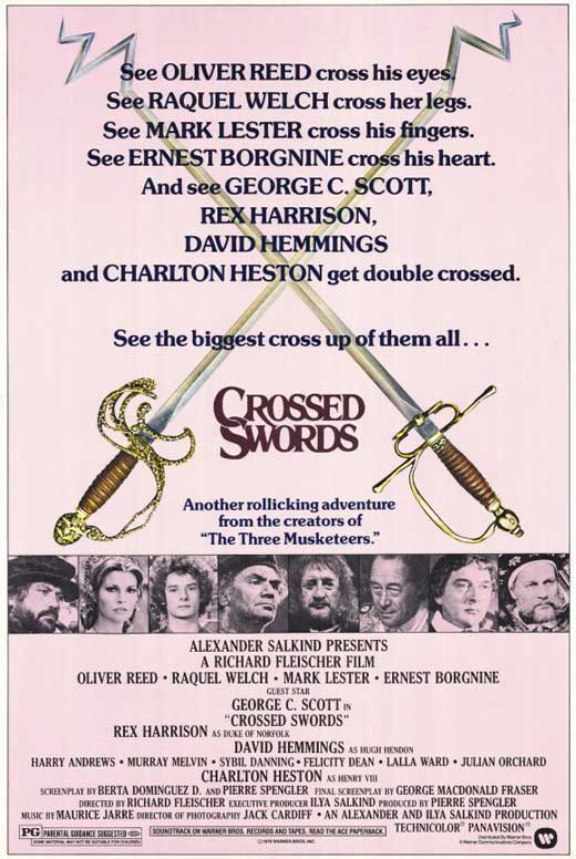 Crossed Swords Movie Posters From - 72.3KB