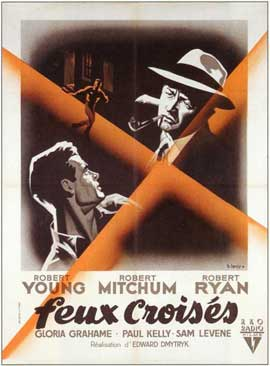 Crossfire - 11 x 17 Movie Poster - French Style A