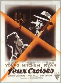 Crossfire - 27 x 40 Movie Poster - French Style A