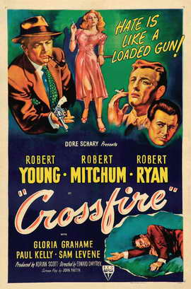 Crossfire - 27 x 40 Movie Poster - Style B