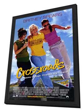 Crossroads - 11 x 17 Movie Poster - Style D - in Deluxe Wood Frame