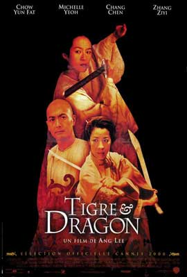 Crouching Tiger, Hidden Dragon - 11 x 17 Movie Poster - French Style A