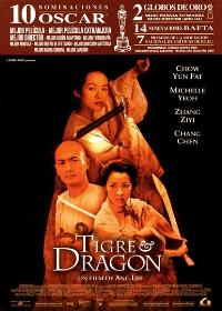 Crouching Tiger, Hidden Dragon - 11 x 17 Movie Poster - Spanish Style B