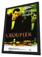 Croupier - 27 x 40 Movie Poster - Style A - in Deluxe Wood Frame