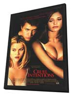 Cruel Intentions - 11 x 17 Movie Poster - Style B - in Deluxe Wood Frame