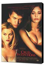 Cruel Intentions - 11 x 17 Movie Poster - Style B - Museum Wrapped Canvas