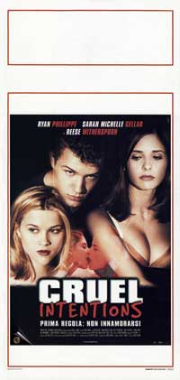 Cruel Intentions - 13 x 28 Movie Poster - Italian Style A