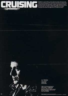 Cruising - 11 x 17 Movie Poster - Style B