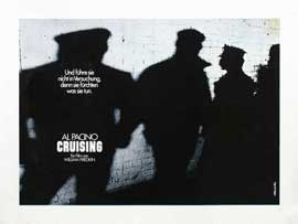Cruising - 27 x 40 Movie Poster - German Style A