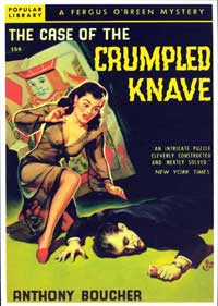 Crumpled Knave - 11 x 17 Retro Book Cover Poster