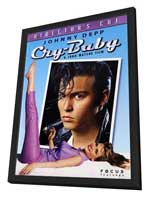 Cry-Baby - 11 x 17 Movie Poster - Style B - in Deluxe Wood Frame