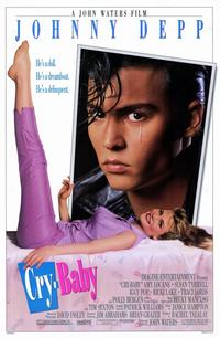 Cry-Baby - 11 x 17 Movie Poster - Style A - Museum Wrapped Canvas