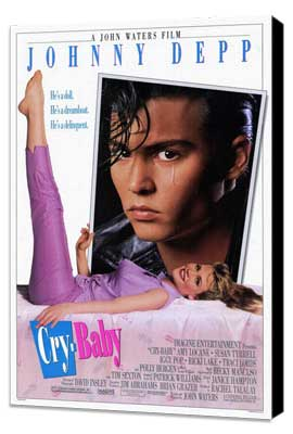 Cry-Baby - 27 x 40 Movie Poster - Style A - Museum Wrapped Canvas