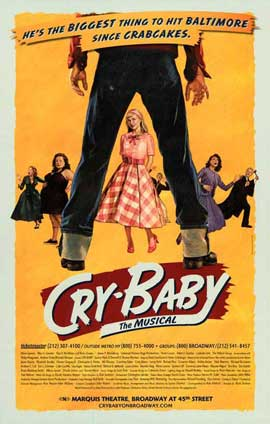 Cry Baby the Musical (Broadway) - 27 x 40 Poster - Style A
