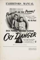 Cry Danger - 11 x 17 Movie Poster - Style C
