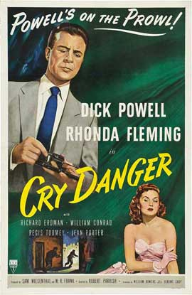 Cry Danger - 11 x 17 Movie Poster - Style B