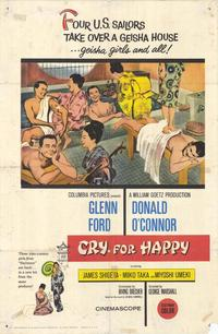 Cry for Happy - 11 x 17 Movie Poster - Style A
