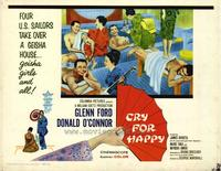 Cry for Happy - 22 x 28 Movie Poster - Half Sheet Style A