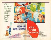 Cry for Happy - 22 x 28 Movie Poster - Half Sheet Style B