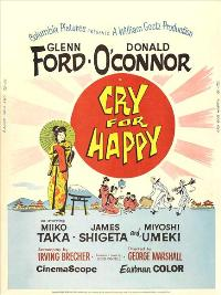Cry for Happy - 27 x 40 Movie Poster - Style B