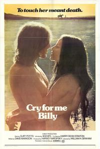 Cry for Me Billy - 27 x 40 Movie Poster - Style A