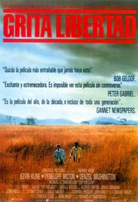 Cry Freedom - 11 x 17 Movie Poster - Spanish Style A