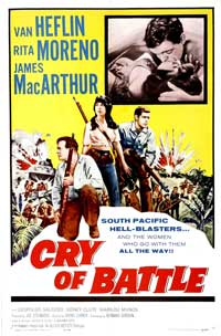 Cry of Battle - 11 x 17 Movie Poster - Style A