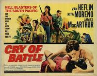 Cry of Battle - 22 x 28 Movie Poster - Half Sheet Style A
