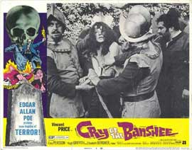 Cry of the Banshee - 11 x 14 Movie Poster - Style D