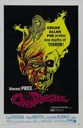 Cry of the Banshee - 27 x 40 Movie Poster - Style B