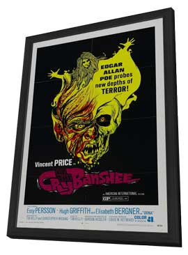 Cry of the Banshee - 11 x 17 Movie Poster - Style B - in Deluxe Wood Frame