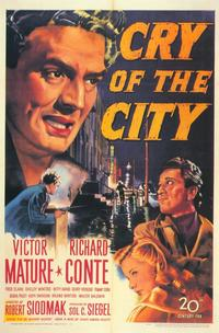 Cry of the City - 27 x 40 Movie Poster - Style B