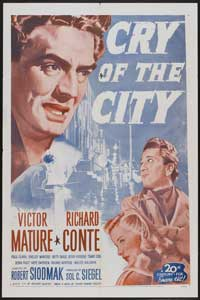 Cry of the City - 27 x 40 Movie Poster - Style C