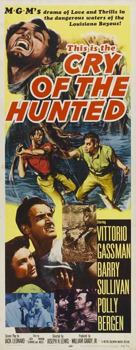 Cry of the Hunted - 14 x 36 Movie Poster - Insert Style A