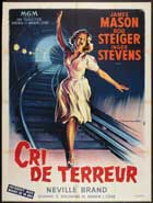 Cry Terror - 11 x 17 Movie Poster - French Style A