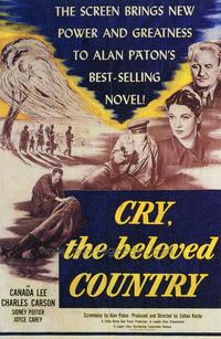 Cry, the Beloved Country - 27 x 40 Movie Poster - Style A