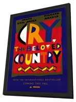 Cry, the Beloved Country - 11 x 17 Movie Poster - Style A - in Deluxe Wood Frame