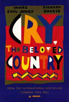 Cry, the Beloved Country - 11 x 17 Movie Poster - Style A