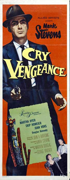 Cry Vengence - 14 x 36 Movie Poster - Insert Style A