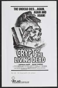 Crypt of the Living Dead - 11 x 17 Movie Poster - Style B
