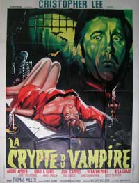 Crypt of the Vampire - 27 x 40 Movie Poster - French Style A