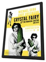 Crystal Fairy - 11 x 17 Movie Poster - Style B - in Deluxe Wood Frame