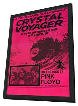 Crystal Voyager - 11 x 17 Movie Poster - Style A - in Deluxe Wood Frame