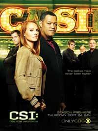 CSI: Crime Scene Investigation - 11 x 17 TV Poster - Style L