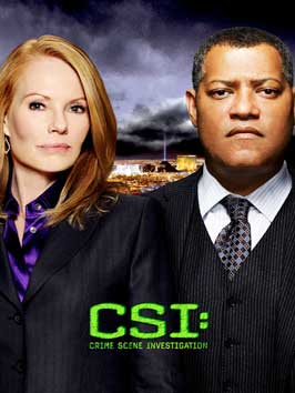 CSI: Crime Scene Investigation - 11 x 17 TV Poster - Style N