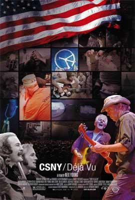 CSNY Deja Vu - 27 x 40 Movie Poster - Style A