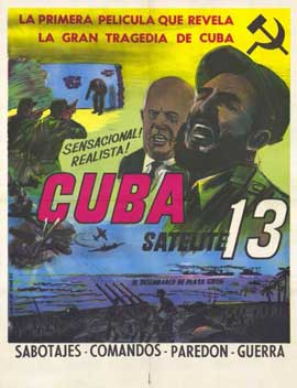 Cuba Satelite 13 - 11 x 17 Movie Poster - Spanish Style A