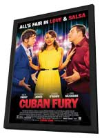 Cuban Fury - 27 x 40 Movie Poster - Style A - in Deluxe Wood Frame