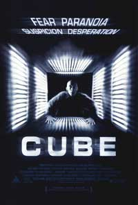 Cube - 43 x 62 Movie Poster - Bus Shelter Style A